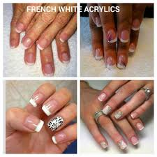 shellac color coat manicure french white needy nails taupo