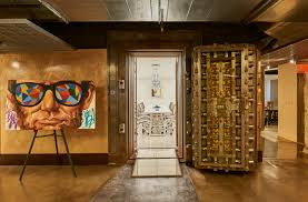 photos new book captures design architecture creative talent in the dpop offices in the basement of the dime savings bank building now the chrysler house michel arnaud