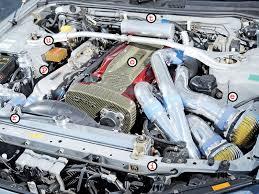 Nissan Gtr Horsepower - nissan skyline r34 gtr rb26 motor turbo u0026 high tech