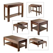 Coffee Table Converts To Dining Table by Furniture Pull Out Dining Table Expandable Console Table