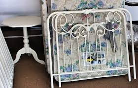 Girls Iron Beds by Sew Grown Little Girls Room Renovation