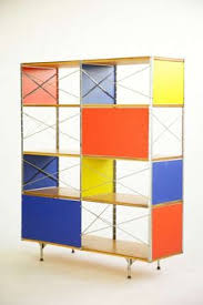 Room Divider Storage Unit - corten steel incorporated here through a minimal geometric