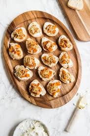 yummy thanksgiving appetizers butternut squash goat cheese crostini the sweetest occasion