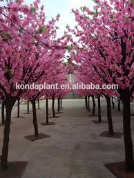 2017 selling artificial flower trees artificial cherry blossom