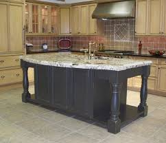 Kitchen Island With Legs Kitchen Design Fascinating Kitchen Island Legs Image Ideas Square