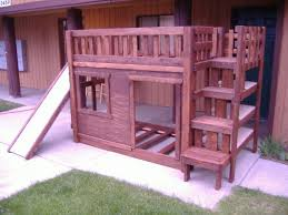 Build Your Own Wood Bunk Beds by Diy Bunk Bed Set With Stairs Cubbie Shelves And Of Course A