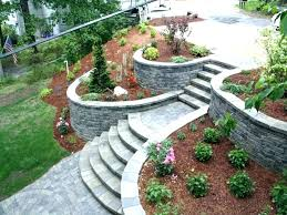 Retaining Wall Ideas For Gardens Block Retaining Wall Ideas Inexpensive Retaining Wall Ideas