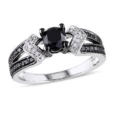 black engagement rings images Black diamonds collections zales jpg