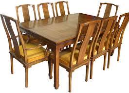 Oriental Dining Table by Vintage Brick Road