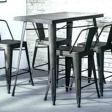 tables hautes cuisine bureau breathtaking cuisine table haute hauteur bar americaine
