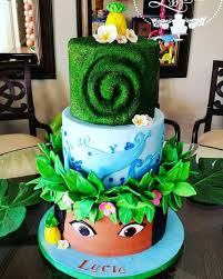 moana cake cake by elizabeth moana party theme pinterest