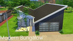 modern bungalow the sims 4 tour youtube