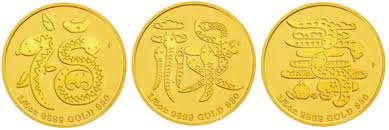 new year gold coins astrological series 2013 year of the snake gold coins