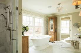 Craftsman Bathroom Vanities by Greek Revival Farmhouse Bathroom Traditional With Country Home