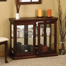 garage glass doors wildon home console curio cabinet walmart com