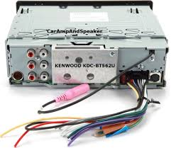 Crutchfield Audio Equipment Amazon Com Kenwood Kdc Bt562u Cd Single Din In Dash Bluetooth Car