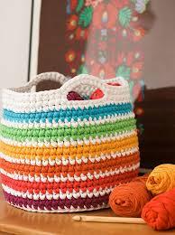 102 best textilgarn images on pinterest crochet baskets