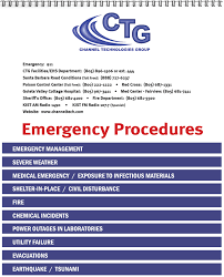 emergency procedures flip charts send your content we do the rest