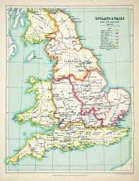 Berkshire England Map by Maps Tagged