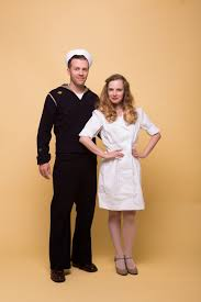 the kissing sailor couple u0027s costume camille styles