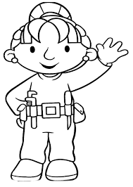 printable wendy friend bob builder coloring pages legos