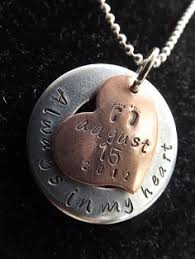 Baby Remembrance Jewelry Miscarriage Remembrance Necklace