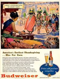 vintage thanksgiving advertising in the days of the lone