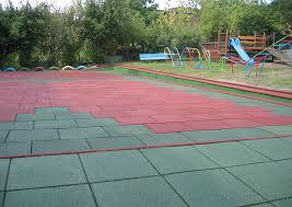tappeti in gomma per bambini pavimenti antitrauma negli spazi esterni le caratteristiche mie