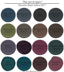 color trends our favorite dark paint colors the ace of space blog