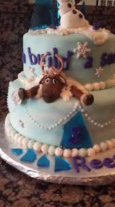 frozen birthday cake cakecentral com