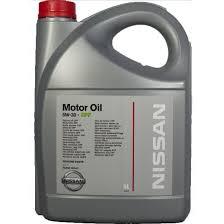 nissan australia genuine parts genuine nissan dpf oil 5w30 5 litres all diesel engines amazon