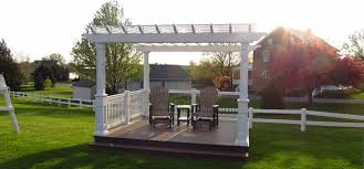 Backyard Porches Patios - pergolas vinyl decks elite vinyl raillings llc