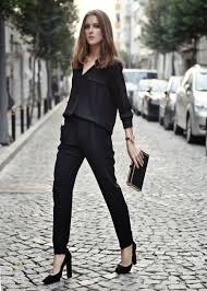 all black casual how to rock an all black stylishly aelida