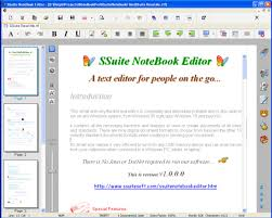 Count Words In A Document In Wordpad Ssuite Notebook Editor Not Just Another Wordpad Replacement