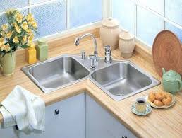 home depot double stainless steel sink eco friendly kitchen sink top mount stainless steel 4 hole double