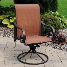 Menards Patio Table Backyard Creations Melbourne Swivel Rocker Patio Chair At Menards