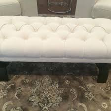 Homesense Ottoman Find More Upholstered Decorative Bench From Homesense 40 Inches