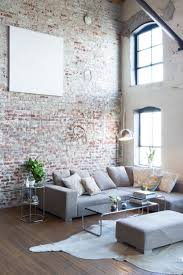 livingroom wall ideas rustic interior exposed brick wall ideas for your living