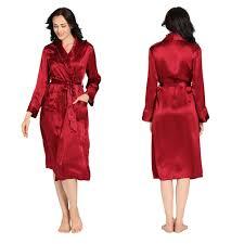 robe de chambre en satin robe chambre en soie exotique décor dentelle
