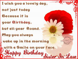 excellent birthday wishes sister in law layout best birthday