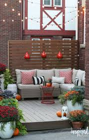 Outdoor Fall Decorating Ideas by 480 Best Outdoor Spaces Images On Pinterest Outdoor Patios