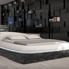 Wohnzimmer M El Schwebend Gemütliche Innenarchitektur Moderne Betten Bett Schwebende Optik