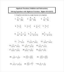 algebraic multiplication worksheet efficiencyexperts us