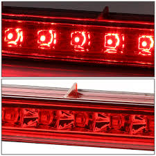 2009 chevy equinox pontiac torrent red lens 3d led cargo top