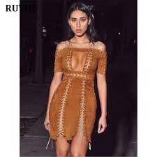 online get cheap brown faux suede aliexpress com alibaba group