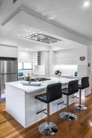 kitchen island exhaust hoods flush ceiling mount range a great alternative for open space