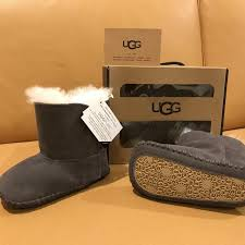 ugg sale size 4 find more bnib ugg baby caden grey size 4 5 for sale at up to 90