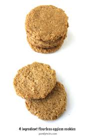 4 Ingredient Peanut Butter Cookie Recipe Grain Free Egg Free
