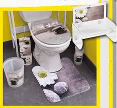 Bathroom Contour Rug Pedestal Mat Microfiber Bathroom Toilet Contour Rug Mat Zen Garden