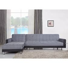 Chaise Lounge Sofa Sleeper by Spencer Fabric And Faux Leather Corner Chaise Sofa Bed U2013 Next Day